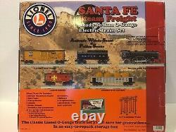 Lionel O Jauge Santa Fe Prêt À Exécuter Ensemble De Fret. 7-11192