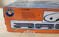 Lionel O Jauge The Polar Express Train (6-31960) Prêt À Run! Noël