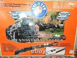 Lionel O Scale #6-311931 Pennsylvania Flyer Steam Locomotive Set Ready To Run
