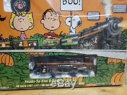 Lionel Peanuts Charlie Brown Halloween Prêt À Fonctionner Complet 6-30214 Train Électrique