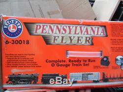 Lionel Pennsylvania Flyer 6-30018 Set De Train Électrique À L'échelle O Prêt À Fonctionner Nib