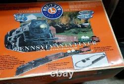 Lionel Pennsylvania Flyer Complet Prêt À Courir O-27 Train À L'échelle