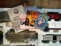 Lionel Pennsylvania Flyer Set De Train Prêt À Fonctionner # 6-30018 Avec Accessoires / Original