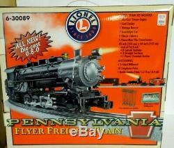 Lionel Pennsylvania Flyer Train De Marchandises Prêt À Courir Train 6-30089