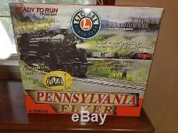 Lionel Pennsylvanie Flyer Train 6-30018 Prêt À L'emploi En 4-4-2 Loco Vapeur. # 1645