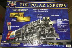 Lionel Polar Express Authentique, Prêt À Courir G-gauge Train Set Nouveau