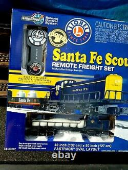 Lionel Santa Fe 6-30207 Lion Chief Factory Sealed Set Ready To Run
