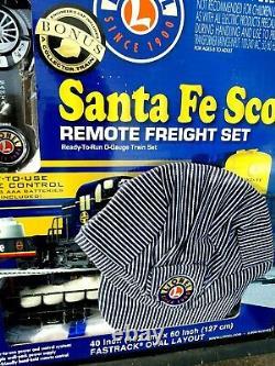 Lionel Santa Fe 6-30207 Lion En Chef Scellé En Usine Prêt À L 'exécution