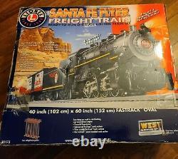 Lionel Santa Fe Flyer Train De Marchandises Prêt À Exécuter O-gauge Electric Train Set