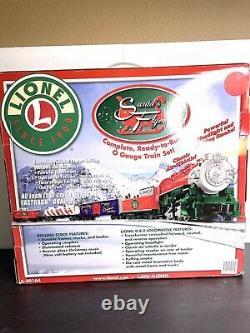 Lionel Santas Flyer Prêt À Courir O-gauge Train Set 6-30164