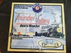 Lionel Thunder Valley Quarry Mine Set New In Box O Gauge Prêt À Courir Nice