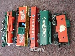 Lionel Train 6-21944 Ready To Run 0-27 Set De Train De Noël Electric Musical Boxc