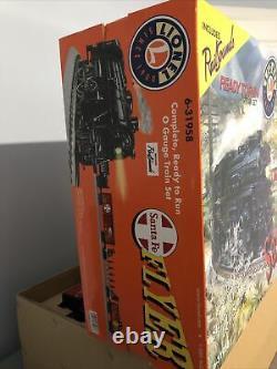 Lionel Train Set Santa Fe Flyer, O Gauge 6-31958 Rail Sounds, Prêt À Courir