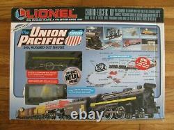 Lionel Trains Complete Ready To Run Union Pacific Train Set #11736 Ex
