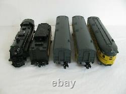 Lionel Trains Complets Prêts À Courir Chicago & North Western Set Passager #30120