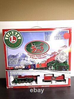 Lionel Trains Santas Flyer Prêt À Courir O-gauge Train Set 6-30164