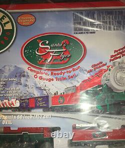 Lionel Trains Santas Flyer Prêt À Courir O-gauge Train Set 6-30164. Nouveau
