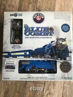 Lionel Trains Set The Blue Comet New Jersey Central 1923070 Nib Prêt À Courir