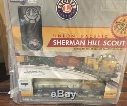 Lionel Union Pacific Sherman Hill Scout Ready To Run O Gauge Train Électrique À Distance