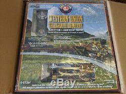Lionel Western Union Telegraph Company Prêt-à-run Train Mis 6-81264 Withremote