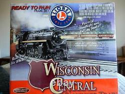 Lionel Wisconsin Central Passenger Train Ready To Run O Train De Jauge Réglé 6-30072
