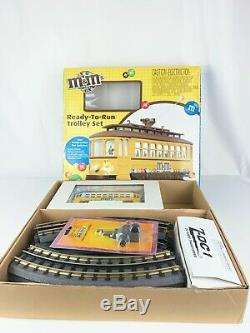 M & M De Trolly Prêt À Terme R-t-r Train Inversion Pare-chocs Mth Sonneries Vo 30-4191