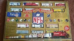 Mantoue Super Bowl Express À Run Train NFL Certifié Première Édition