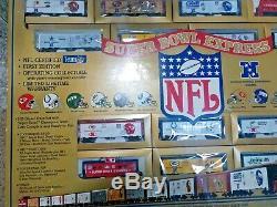 Mantoue Super Bowl Express Run Train NFL Certifié Première Édition