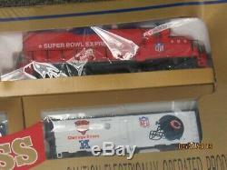 Mantoue Super Bowl NFL Express Certifié Prêt À Fonctionner Train (14354-train-ys)