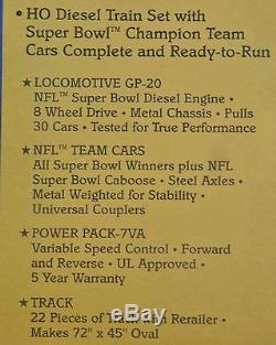 Mantua Super Bowl Express - Ensemble De Train Prêt À Courir - Première Édition Certifiée NFL