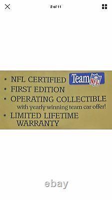 Mantua Super Bowl Express Prêt À Courir Train Set NFL Certifié Première Édition