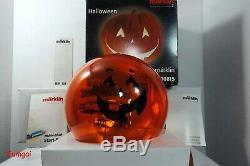 Märklin Z 00815 Halloween Hallomärklin Jack-o-lantern Starter Set Prêt À Fonctionner