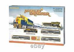 Mckinley Explorer Prêt À Exécuter L'échelle N Du Train De Voyageurs Électrique