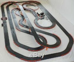 Mega 66,8' Afx Tomy Raceway Géant Piste Emplacement Set Voiture, 4' X 8' Prêt À Run
