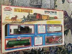 Modèle Power LIL Donkey Ho Échelle De Train Électrique Set Prêt À Courir No. 1024 Nouveau