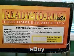 Mth 30-1015 Railking Prêt À L'emploi Unité Norfolk Southern Train / C-8