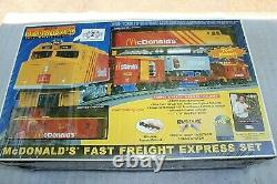 Mth 30-4042-1 Mcdonalds Fast Freight Ps 2.0 Ready To Run Train