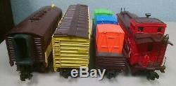 Mth 30-4190-0 Coffret De Train De Marchandises Prêt À Fonctionner F3 De M & M (2008) Ln