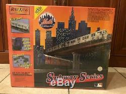 Mth Mets De New York Prêt À Fonctionner Train 30-4123-1 Nib