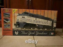 Mth Railking Les Yankees De New York Sont Prêts À Fonctionner Nib! 30-4121-1