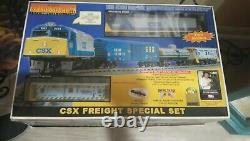 Mth Ready -to-run Utilisé Csx Freight Special Set