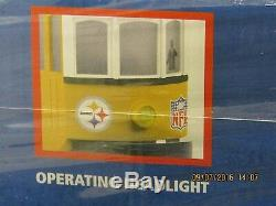 NFL Ny Jets Rtr Trolley Set Rare / Newithsaled 30-4167-1 Prêt À Courir