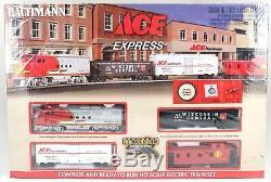 New Bachmann Ace Express Complet Prêt À L'emploi Echelle Ho Électrique Train 00744