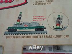 Nib K-line 027 Coffret De Train Diesel Prêt À Fonctionner De 5 Unités Coca Cola
