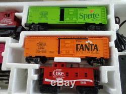 Nib Lionel Coffret De Train Prêt À Fonctionner Coca Cola 027 De 1974