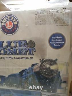Nib Lionel The Blue Comet Train Set Ready To Run O Gauge Rail Road Nouveau Bluetooth