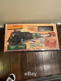 Noël 4-6-0 Vapeur R-t-r Train Withloco Son Ready To Run Rail Set Roi