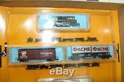 Nos Vintage Atlas Ready To Run Train 86 364 N Gauge Santa Fe 2186 Switcher