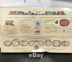 Nouveau Bachmann Trains Jingle Bell Expressvu Echelle Ho Prêt-à-run Électrique Train