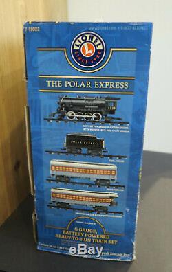 Nouveau Lionel 7-11022 G-gauge Le Polar Express Ready To Run Train X-mas Train